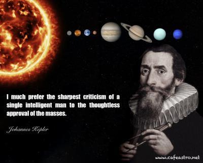 جملات دانشمندان: یوهانس کپلر