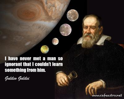 جملات دانشمندان: گالیلئو گالیله