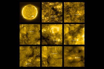 اولین دادههای مدارگرد خورشیدیو انفجارهای سطح خورشید