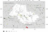 صورت فلکی ذات الکرسی (Cassiopeia)