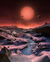 سه جهان برای TRAPPIST-1