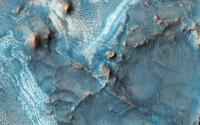 رنگ های فوق العاده در مریخ