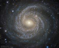 کهکشان NGC 6814: کهکشان بزرگ مارپیچی در عکس هابل