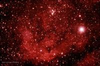 ستاره غول پیکر، سحابی و خوشه ستاره ای