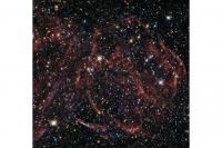 هابل به باقیمانده ستاره مرده خیره شد