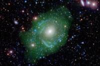کهکشان «فرانکشتاین» UGC 1382 ستاره شناسان را شگفت زده کرد