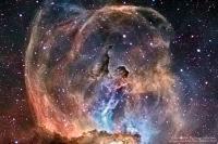 سحابی مجسمه آزادی یا NGC 3576