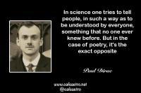نقل قول از دانشمندان: پاول دیراک ۲