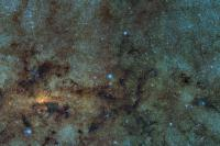 باقی مانده ی خوشه های کروی قدیمی در قلب کهکشان راه شیری پیدا شد