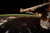زمین از ایستگاه بین المللی فضایی