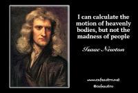 نقل قول از دانشمندان: اسحاق نیوتون ۱