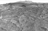 کشف ورقه یخ بزرگ در مریخ