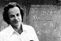 نقل قول دانشمندان: ریچارد فاینمن