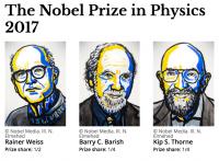 نوبل فیزیک ۲۰۱۷: برای دانشمندان آشکارساز امواج گرانشی