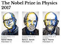 نوبل فیزیک ۲۰۱۷: این بار برای امواج گرانشی