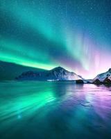 شب رنگارنگ در نروژ