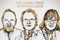 جایزه نوبل فیزیک ۲۰۱۸