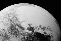 کوه های یخی پلوتو از دید افق های نو