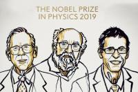 نوبل فیزیک ۲۰۱۹ برای سه دانشمند به خاطر کمک به فهم ما از تکامل جهان